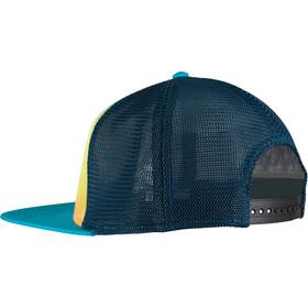 La Sportiva Fade Czapka z daszkiem, tropic blue/apple green